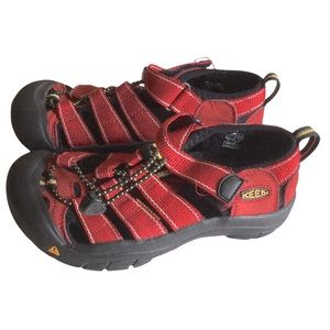 Keen Red Kids Sandals Size 1